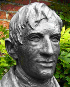 John Henry Newman * 1801 London + 1890 Edgbaston (Büste in Littlemore)